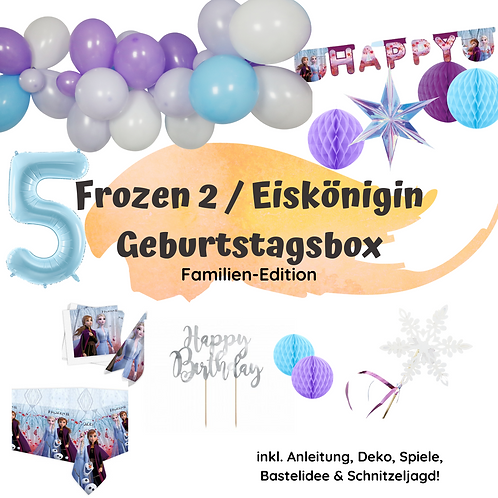 Geburtstagsbox Die Eiskönigin 2 / Frozen 2 - Familien Edition