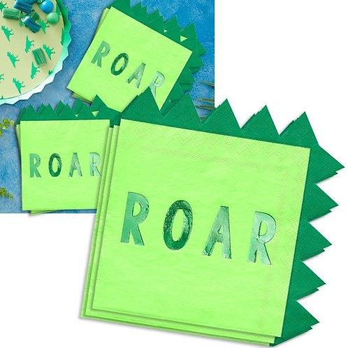 """Serviette Dino """"Roar"""""""