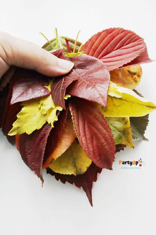 Blätter sammeln