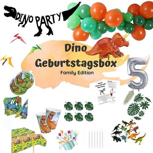 Gefährlicher Dino Geburtstagsbox - Familien Edition
