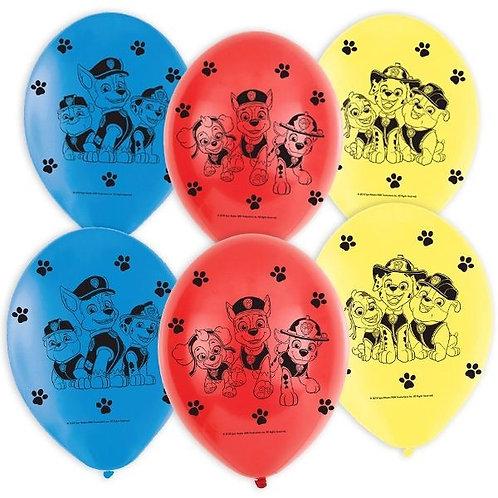 Luftballon mit Paw Patrol Motiv