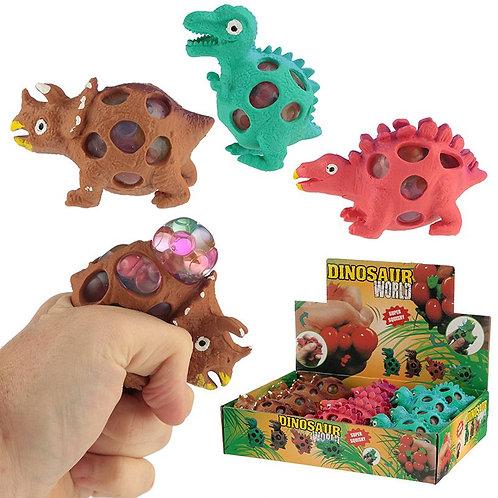 Knautschbarer Dinosaurier Ball im Netz