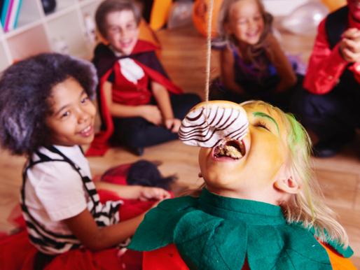 Halloween Spielideen für die Kinderparty