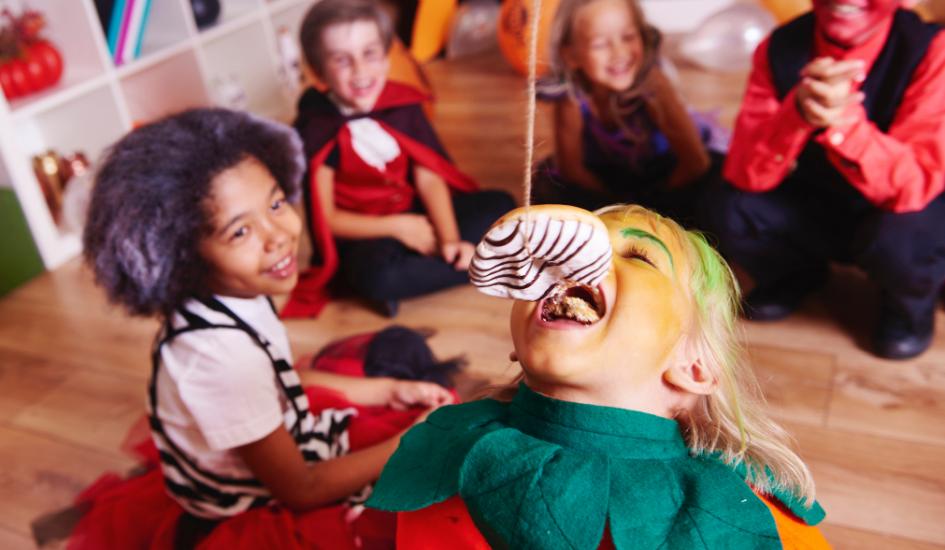 Halloween Spielideen für die Halloween Party oder den Kindergeburtstag zum Motto Gruselparty