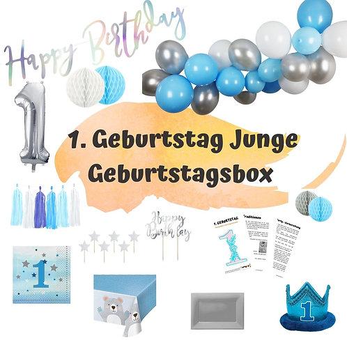 Geburtstagsbox 1. Geburtstag kleiner Star Familien-Edition