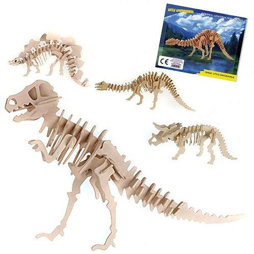 Dino Skelett Puzzle