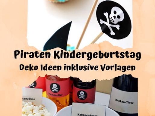 Piraten Geburtstag Deko Ideen