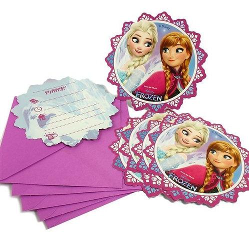 Einladungskarten Frozen / Eiskönigin