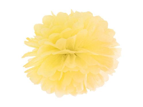 Pompom gelb 25cm