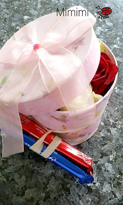 Flowerbox mit Rosen