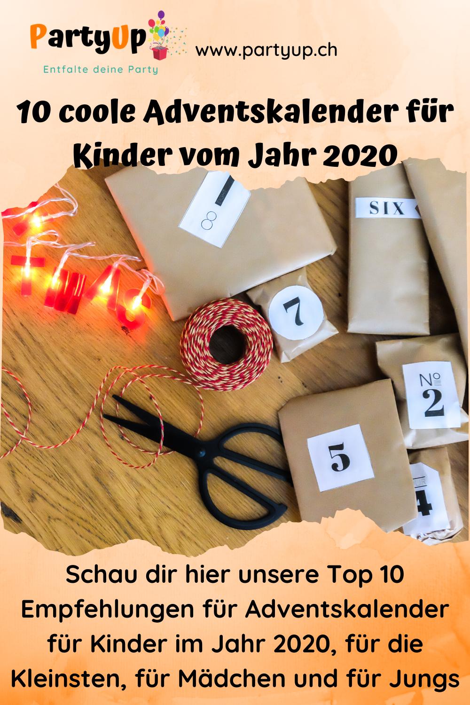 Adventskalender 2020 für Kinder - 10 Ideen für die gekauften Adentskalender