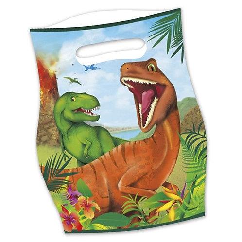 Geschenktüte gefährlicher Dino
