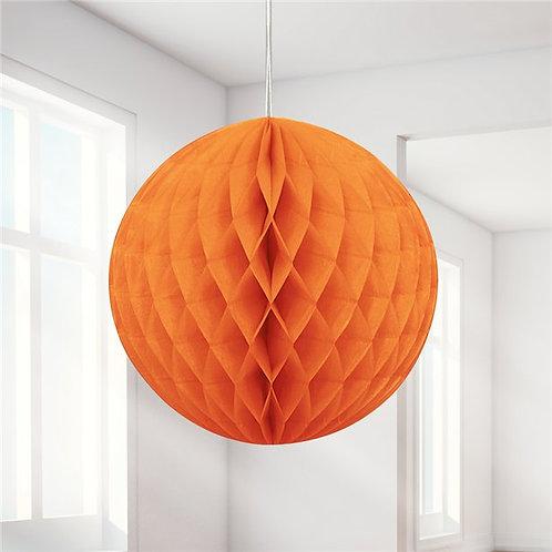 Wabenball orange 20cm