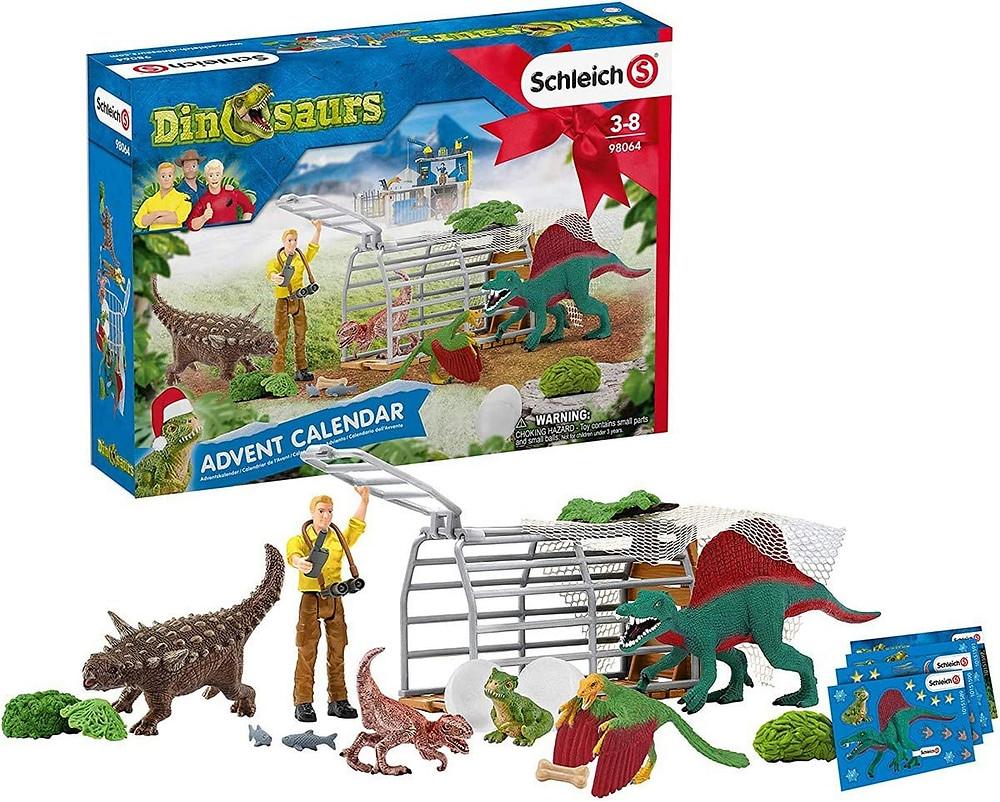 Schleich Dinosaurier Adventskalender 2020 für Jungen
