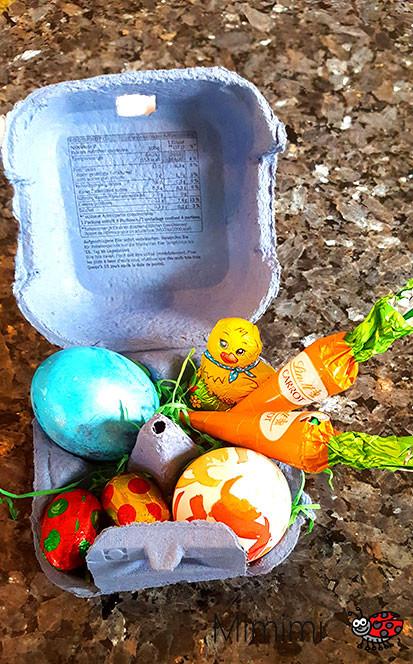 einfaches Osternest