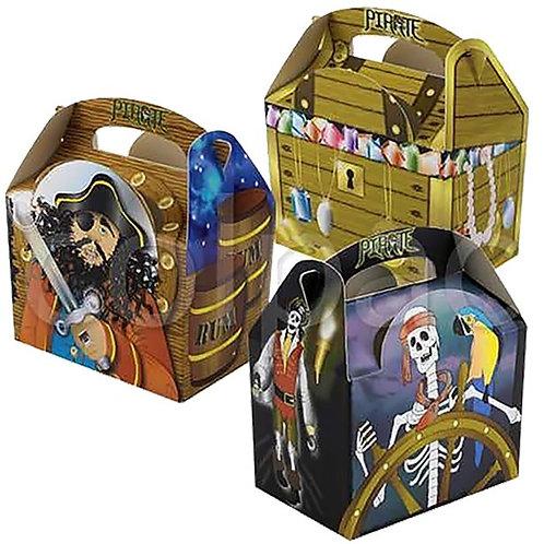 Geschenkboxen für die Piratenparty