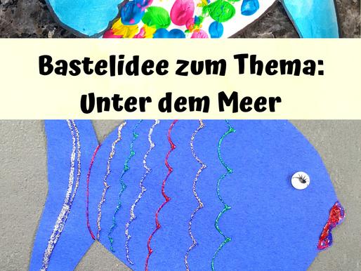 Sommerparty - Fische basteln aus Papier inkl. Gratisvorlage