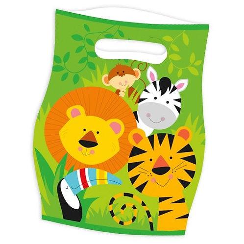 Geschenktüte Wilde Tiere / Dschungel