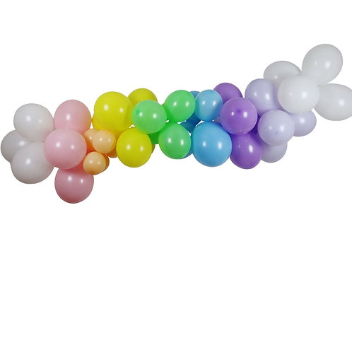 Ballongirlande Regenbogen