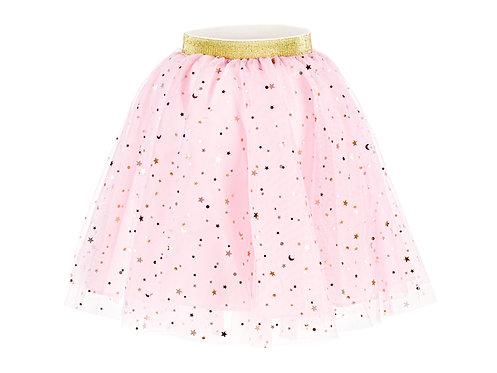 Prinzessinnen Kostüm - rosa glitzerndes Tüll-Röckchen (Tut)
