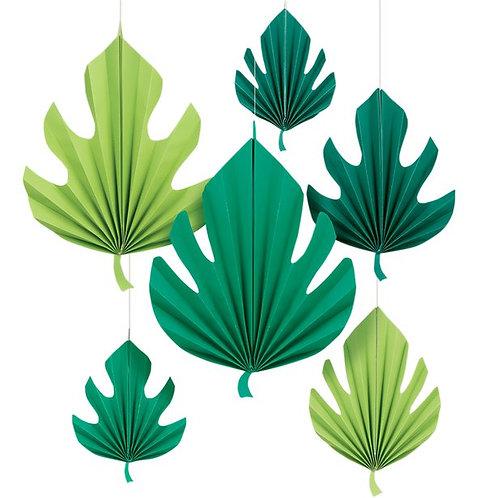 Hängedeko Palmblätter