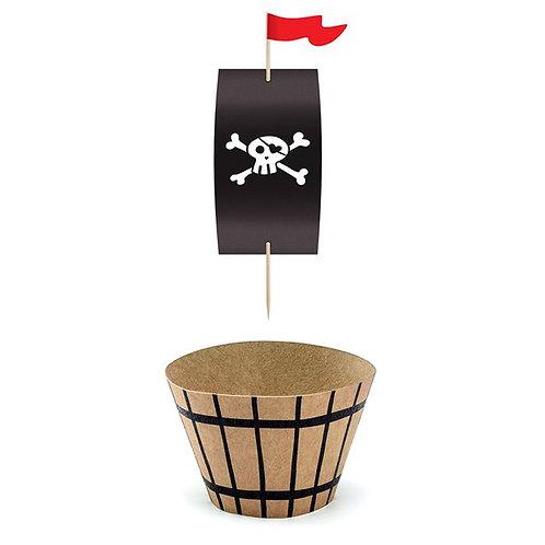 Piraten Cupcakes Set