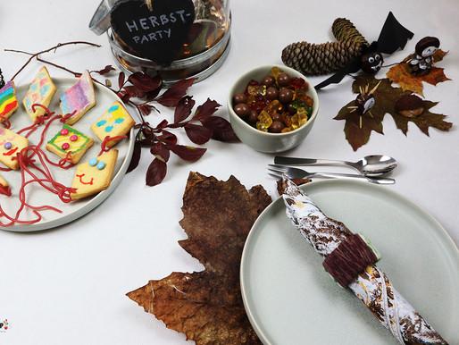 Kindergeburtstag feiern im Herbst mit einfach gebastelten Ideen