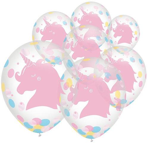 Einhorn Konfetti-Luftballon