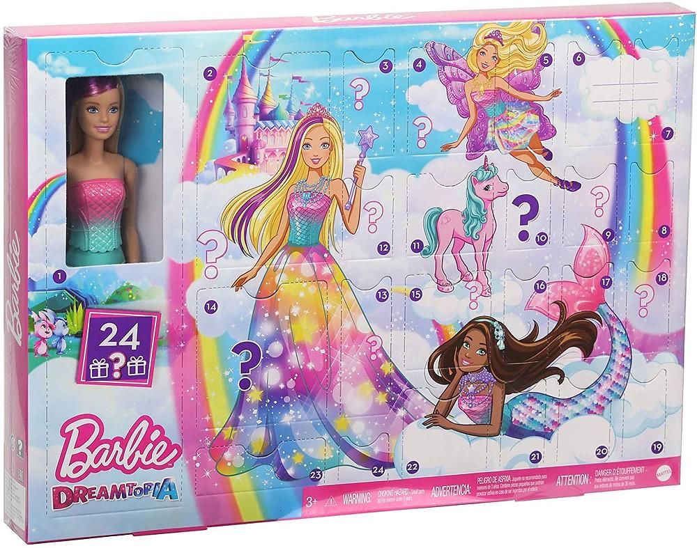 Barbie Dreamtopia Adventskalender für Mädchen 2020