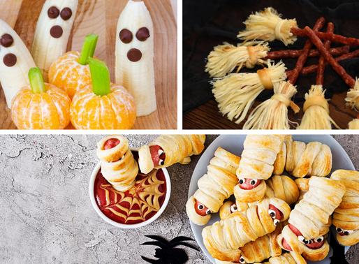 Essen / Snack Ideen für die Halloween bzw. Gruselparty