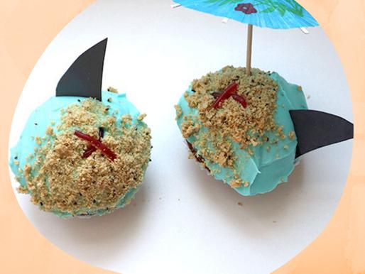 Schatzinsel-Cupcakes mit Überraschung zum Piraten Kindergeburtstag inkl. Anleitungsvideo