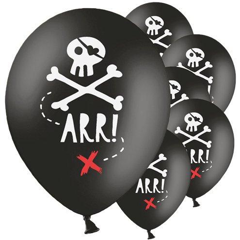 Piratenschädel Luftballon