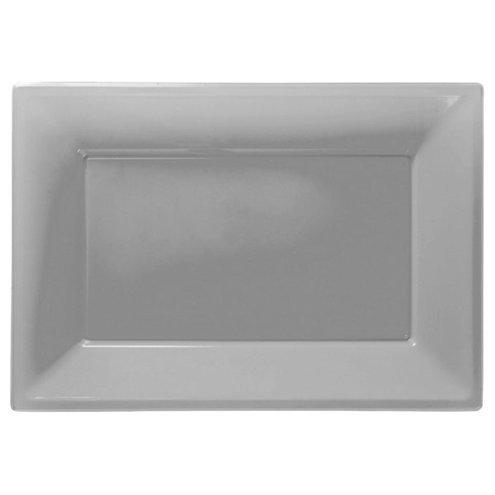 Servierplatte silber