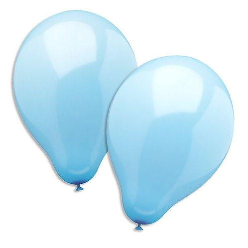 Luftballon hellblau 25cm