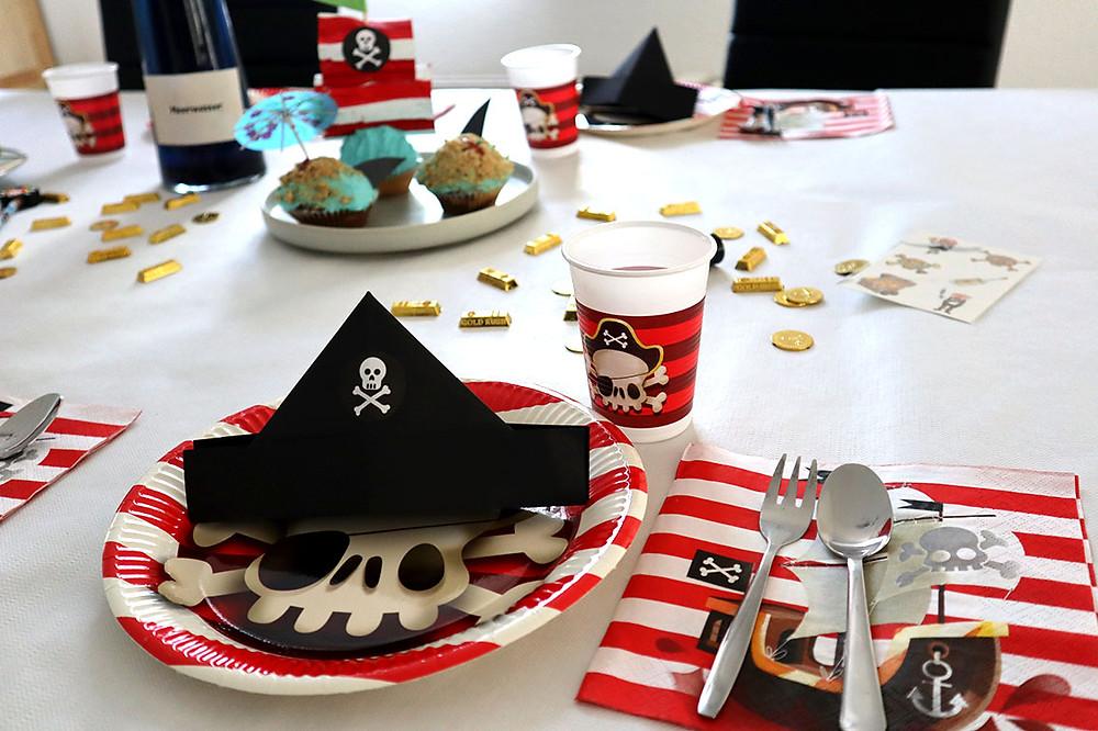 Kindergeburtstag Deko Idee für die Piratenparty (Motto Piraten)