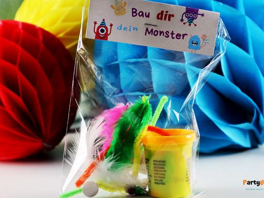 Gastgeschenk / Mitgebsel-Idee für die Monsterparty