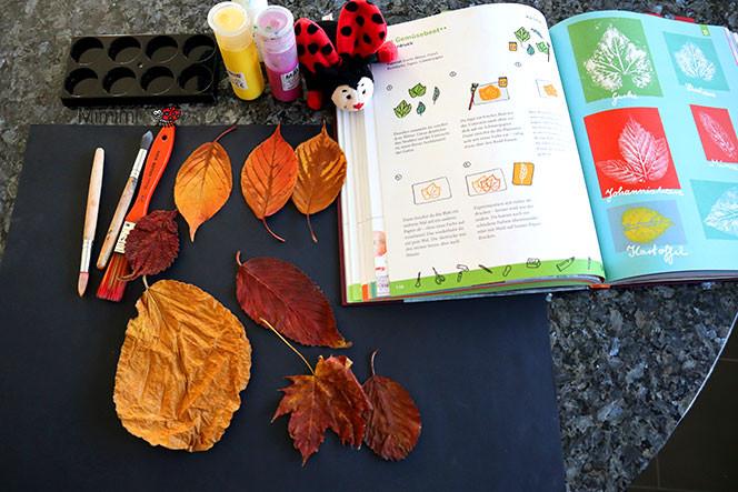 Material Herbstbild