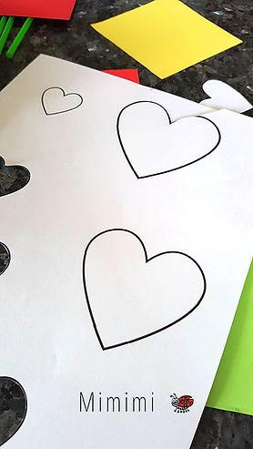 Einfache Herz Blumen Karte Basteln Mit Kindern Mimimi Der
