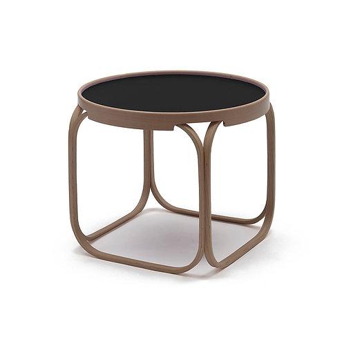 June | Tavolino in legno con vassoio asportabile
