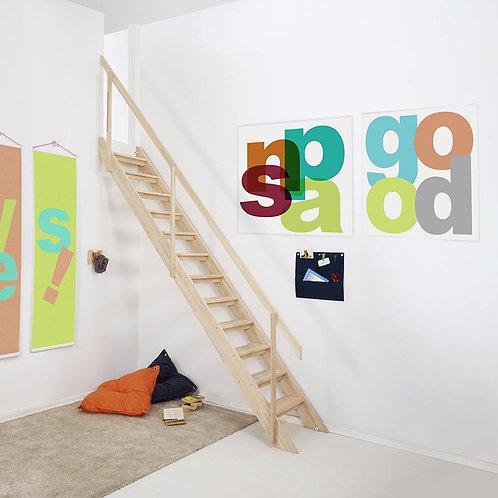 Snap | Scala salvaspazio in legno per interni