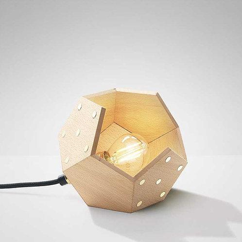 Basic Twelve Solo | Lampada magnetica da tavolo in legno