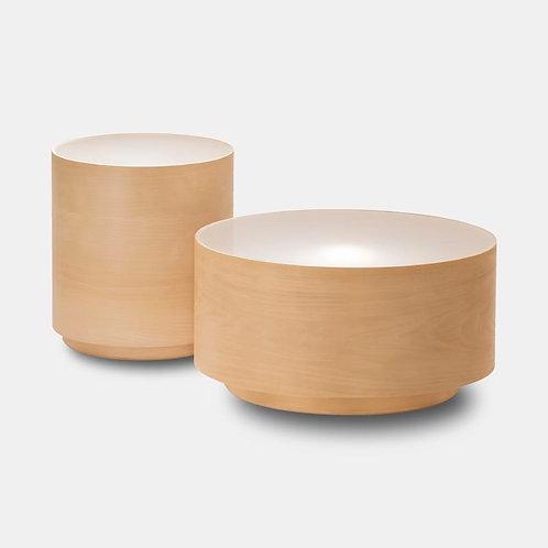 Akira | Tavolino luminoso in legno