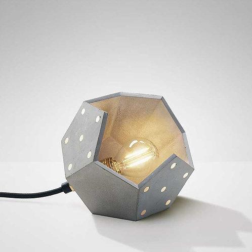 Basic Twelve Solo | Lampada magnetica da tavolo in cemento