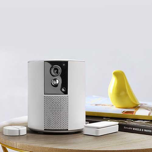 Sistema di allarme e videosorvegliana Somfy One+