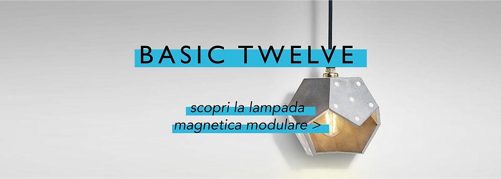 Lampada magnetica modulare | Basic Twelve