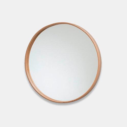 Hoop | Specchio da parete in legno