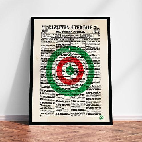 Gazzetta 1861 | Quadro in alta qualità