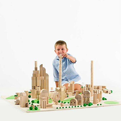 M² City | Set di costruzioni in legno