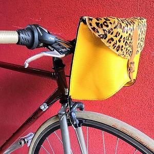 Cavallino - Borsa in pelle da bici