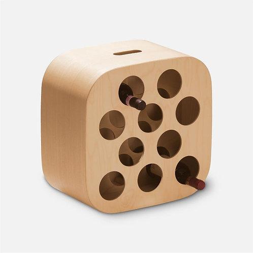 Nello | Portabottiglie in legno